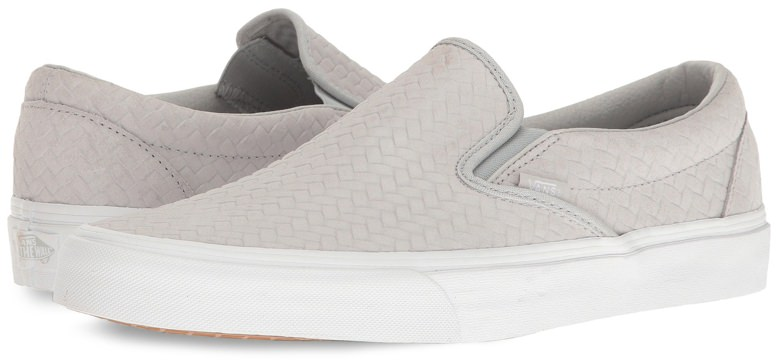 Vans Embossed Slip-on Sneakers