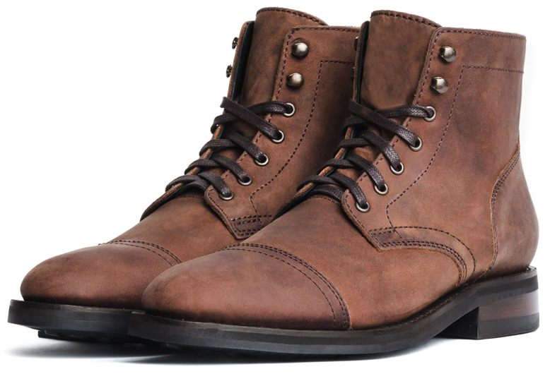 Thursday Boot Co. Rugged Cap-Toe Boot