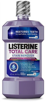 Listerine Stain Remover Anticavity Mouthwash