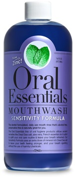 Oral Essentials Sensitive Teeth Mouthwash