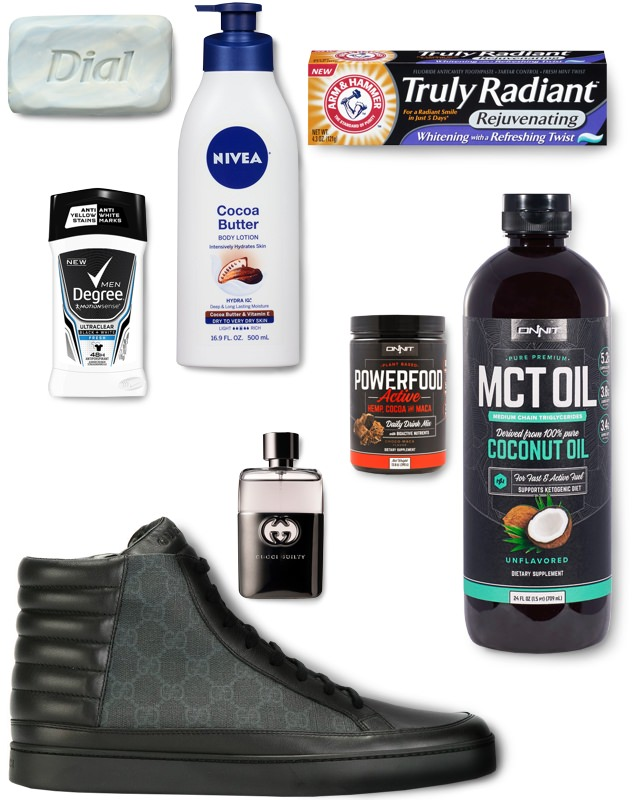 Tyron Woodley's favorite grooming products