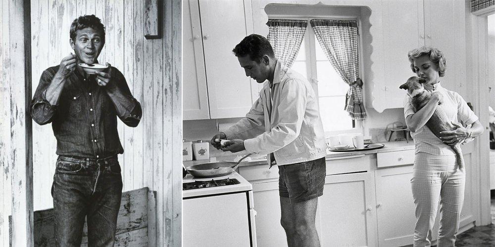 Steve McQueen and Paul Newman