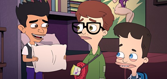 Big Mouth Cartoon on Netflix