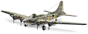 Revell of Germany B-17F Memphis Belle Model