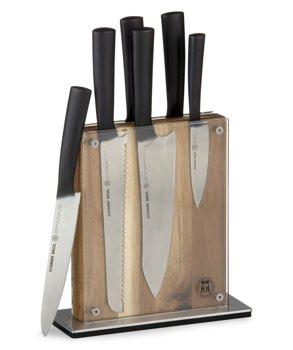 Schmidt Brothers 7-Piece Carbon Knife Block