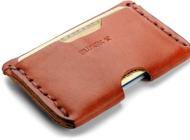Billykirk Slim Leahter Card Case