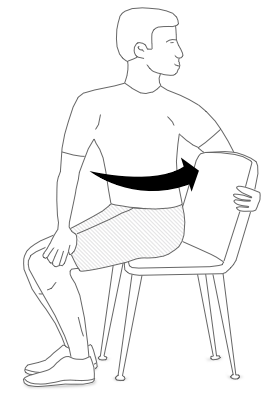 Sitting at Your Desk Posture Exercise