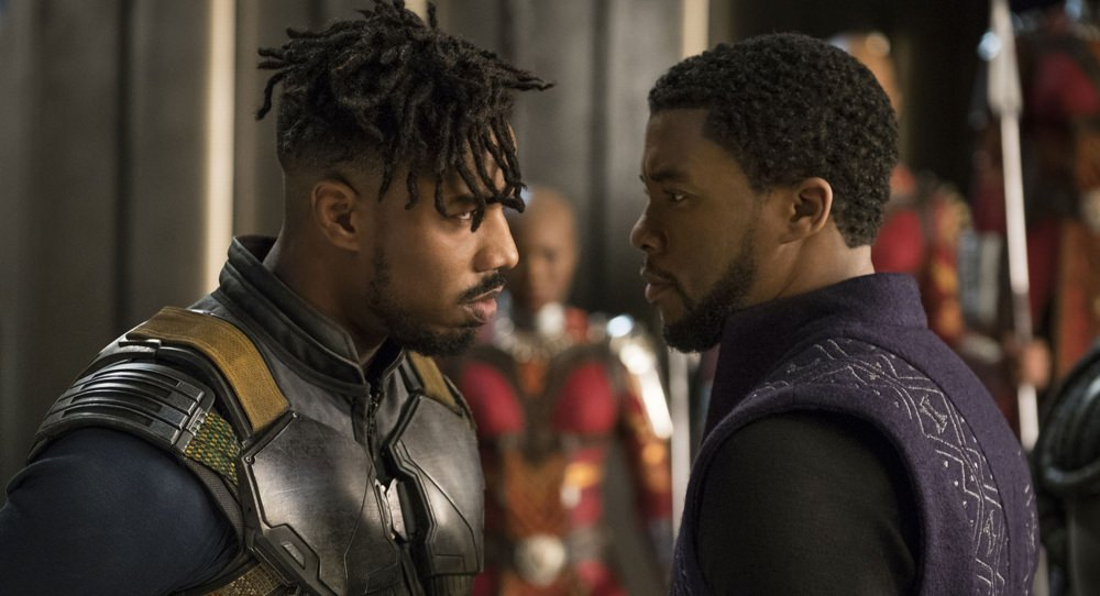 Black Panther Trailer with Michael B. Jordan