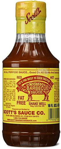 Scott's Carolina Barbecue Sauce