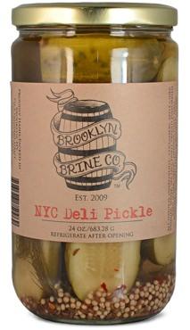 Brooklyn Brine NYC Deli Pickles