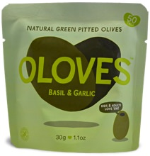 Oloves Packaged Olives