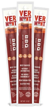 Vermont Smoke & Cure BBQ Beef Sticks