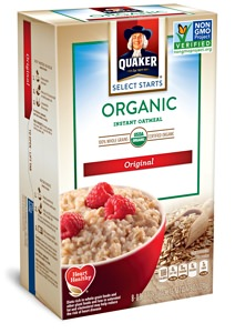 Quaker Select Starts Oatmeal Packets