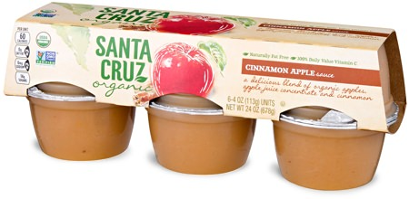 Santa Cruz Apple Sauce Cups