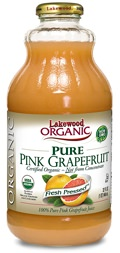 Lakewood Organic Cold-Pressed Grapefruit Juice
