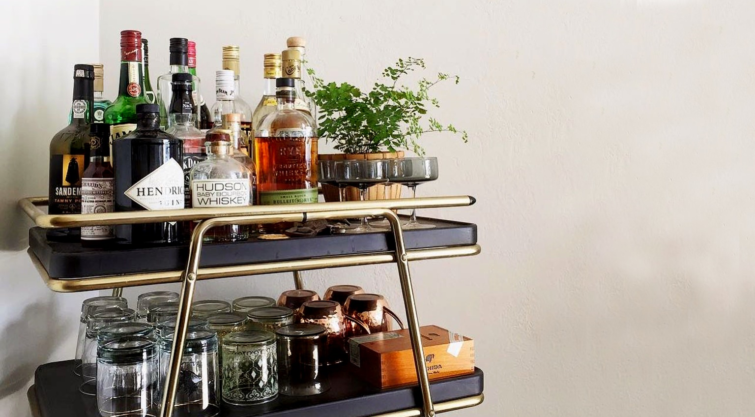 Weekend Project Build Your Bar Cart Valet
