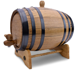 Amazon One-Liter Charred Oak Barrel