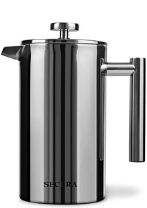 Secura Stainless Steel French Press