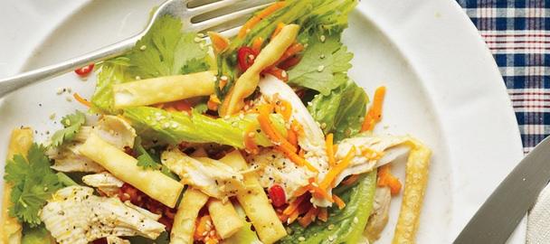 Sesame-Lime Chicken Salad