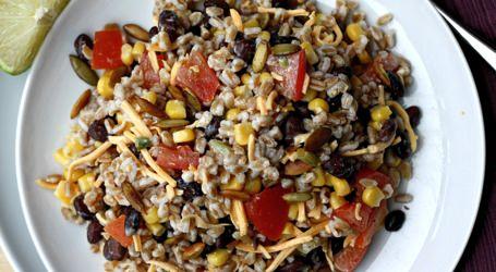 Southwestern Farro Salad recipe