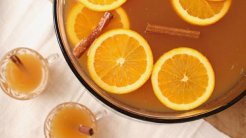 Chilled Cider Punch