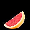 grapefruit wedge