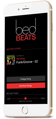 BedBeats app for iPhone and Android
