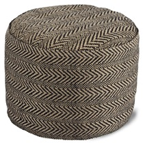 All Modern Chevron Ottoman