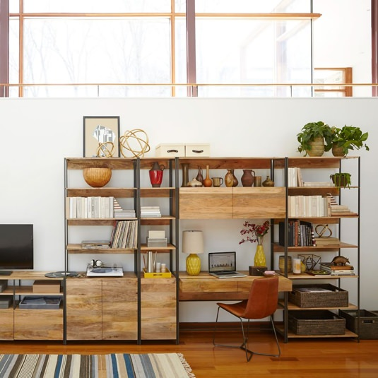West Elm Industrial Modular Units