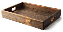 (del)Hutson Designs Reclaimed Wood Tray