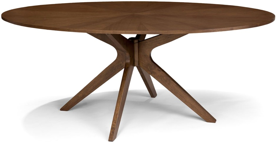 Article Conan Oval Walnut Table