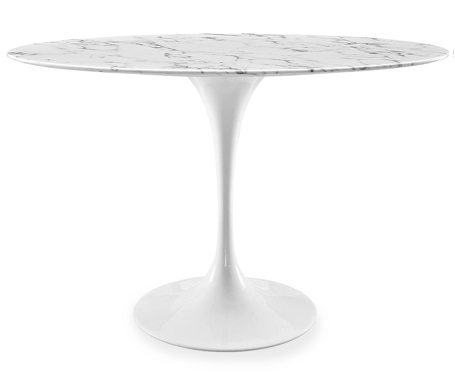 Modway Lippa Marble-Top Oval Table