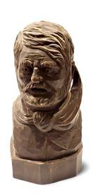 Etsy Vintage Carved Bust