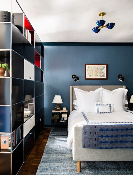 Paint Your Bedroom Walls Dark | Valet.