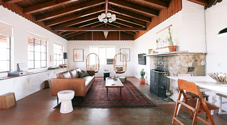 Design cues to borrow from some sharp airbnbs valet for Living spaces for rent