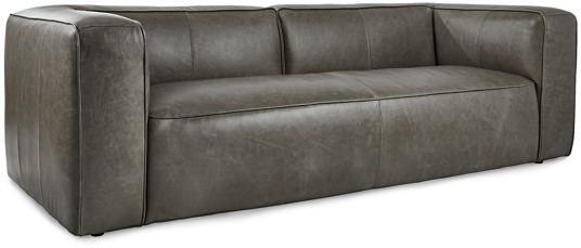 CB2 Mermelada Estudio Buffalo Leather Sofa