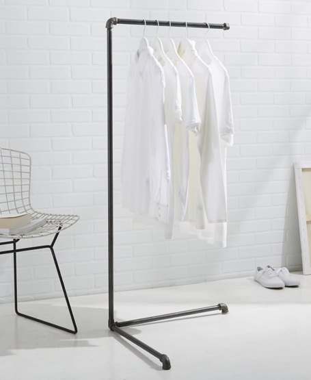 West Elm Monroe Trades Industrial Clothing Rack