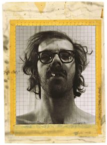 Chuck Close Study for Self-Portrait Print