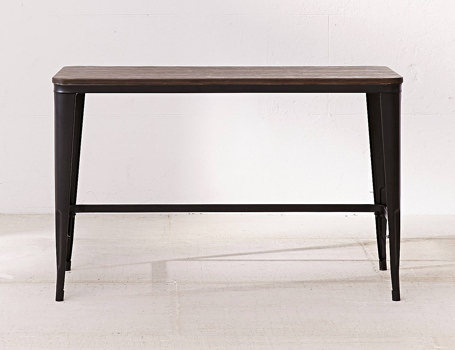 Urban Outfitters Pia Wooden and Metal Desk