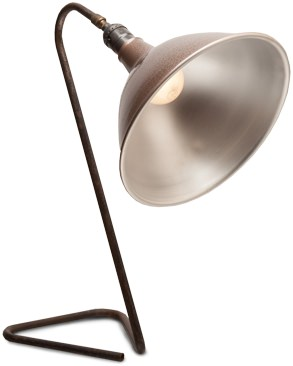Obscure Archive Industrial Work Lamp