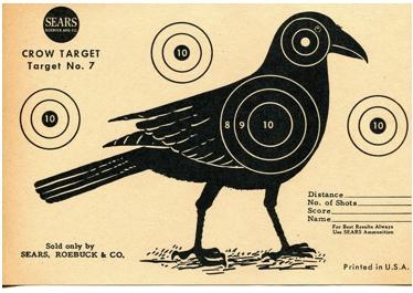 1960s Shooting Target