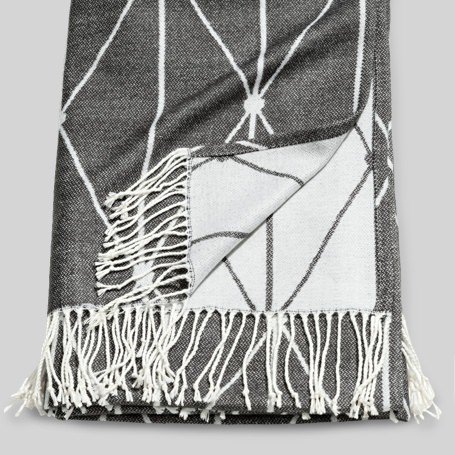 H&M Jacquard Weave Throw