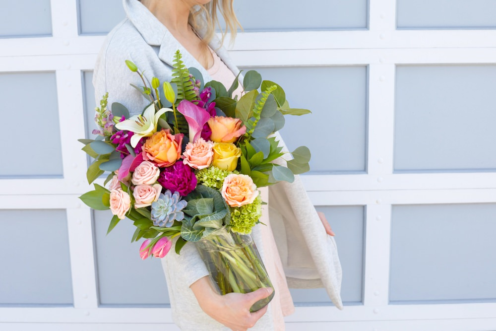 Mother S Day Flower Delivery Service From Bloomthat Valet