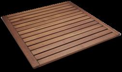 CB2 Teak Wood Mat