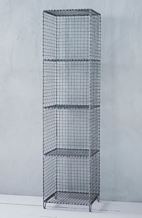 West Elm Wire Mesh Shelving