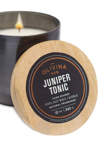 Olivina Juniper Tonic Candle