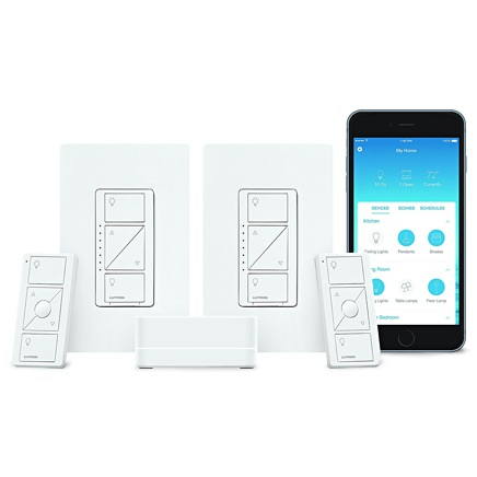 Lutron Wireless Smart Lighting Dimmer Switch