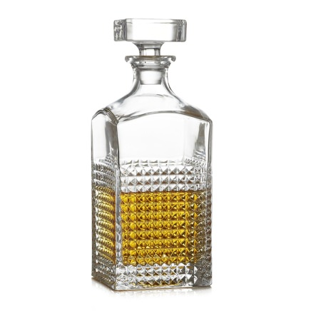 Crate & Barrel Brixton Decanter