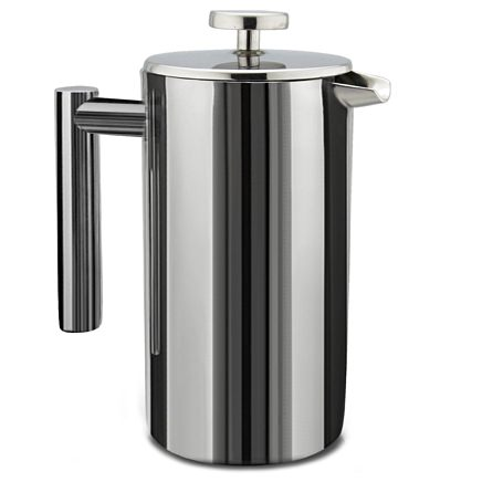 SterlingPro Stainless Steel French Press