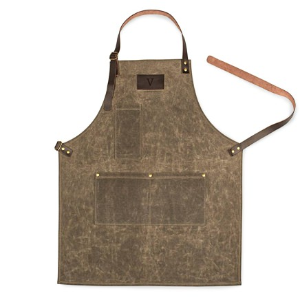 Cathy's Concepts Monogrammed Waxed Canvas Apron